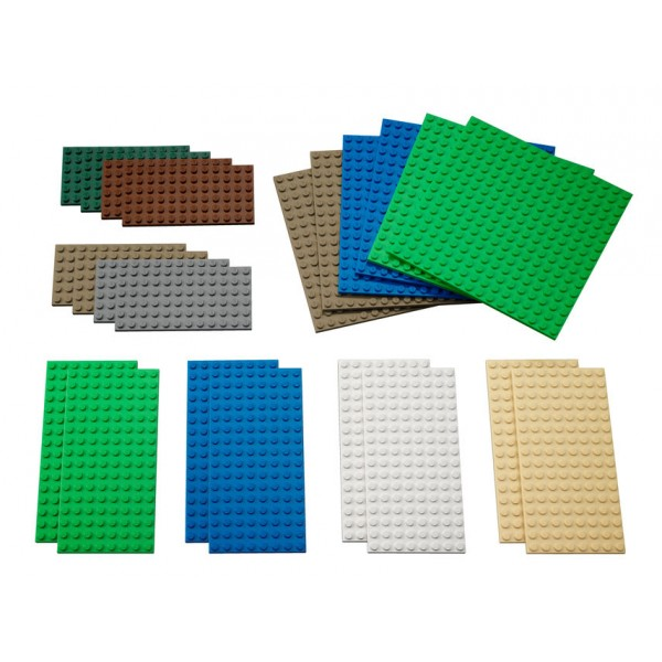 LEGO® Education Small Building Plates